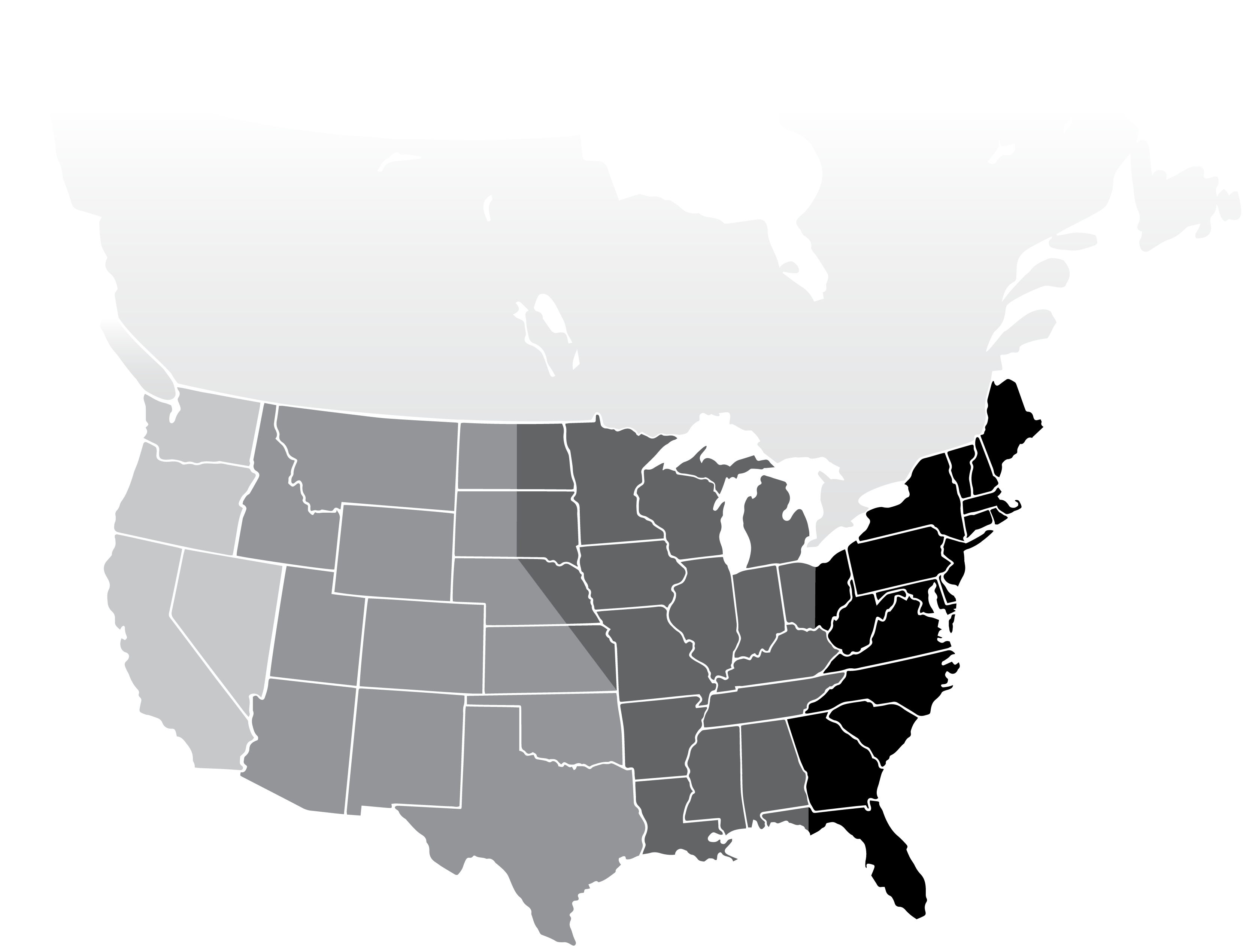 Interactive map test CANADA - Partners
